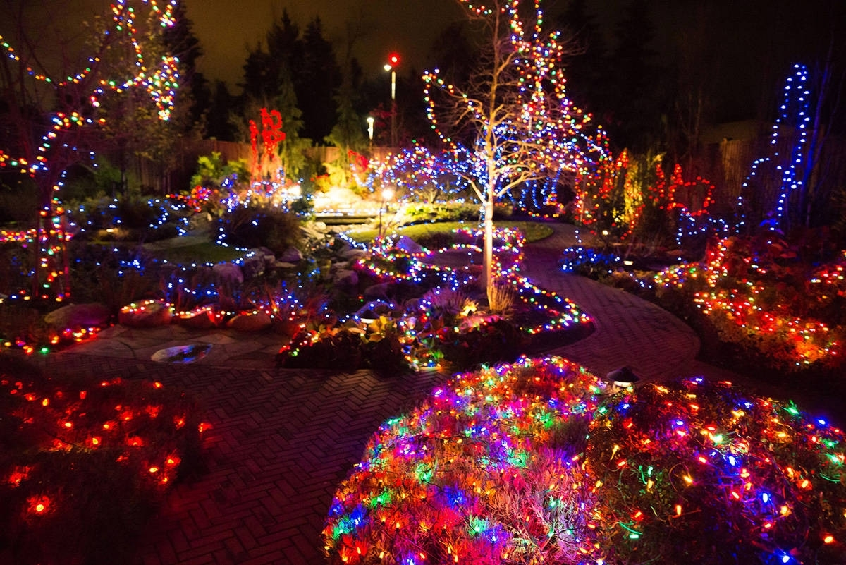 Canuck Place In Abbotsford Is All Lit Up For The Holidays intended for Garden House Hospice Lights Of Life
