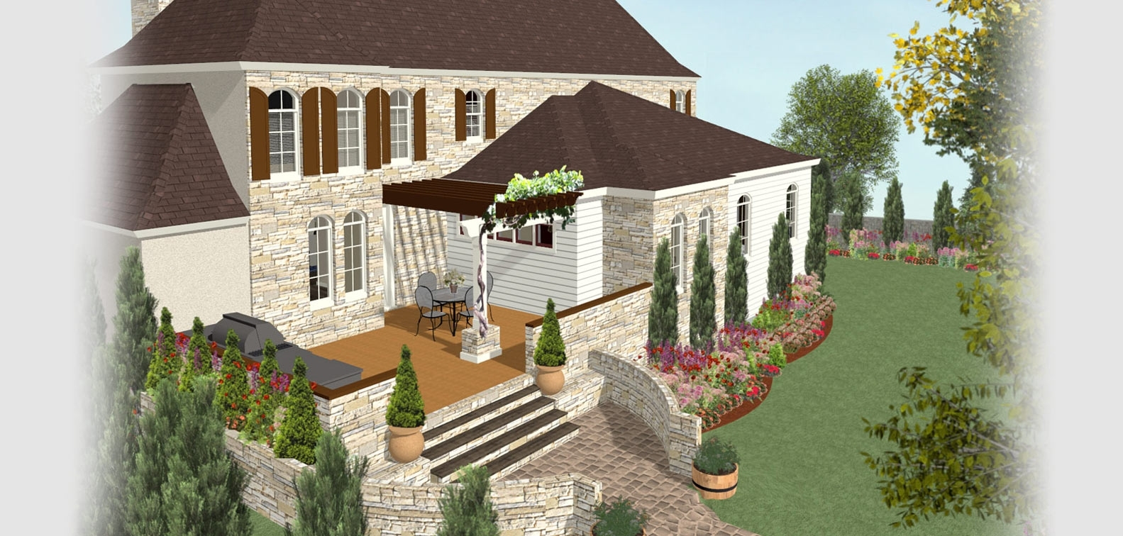 Deck And Landscape Software | Home Designer with regard to Home And Garden House Design Software