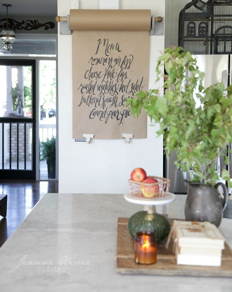 Finding Fall Home Tour With Better Homes And Gardens | A. Kitchen inside Home House Garden Restaurant Menu