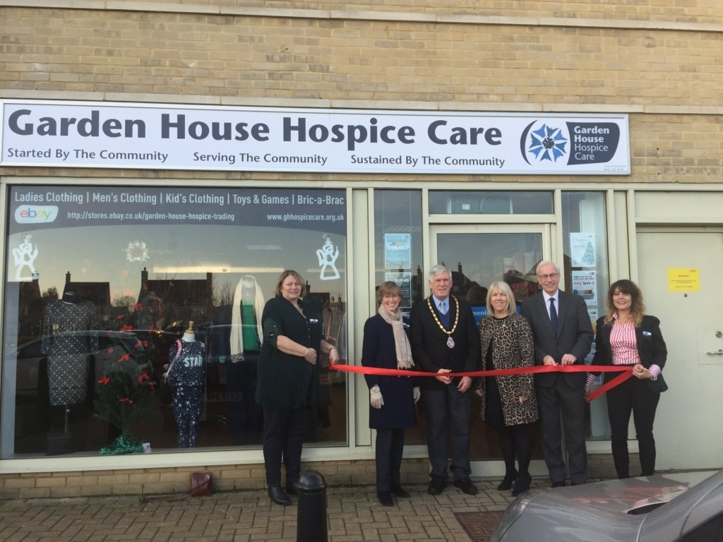 Garden House Hospice Care Have Opened A Store In Fairfield in Garden House Hospice Letchworth Herts