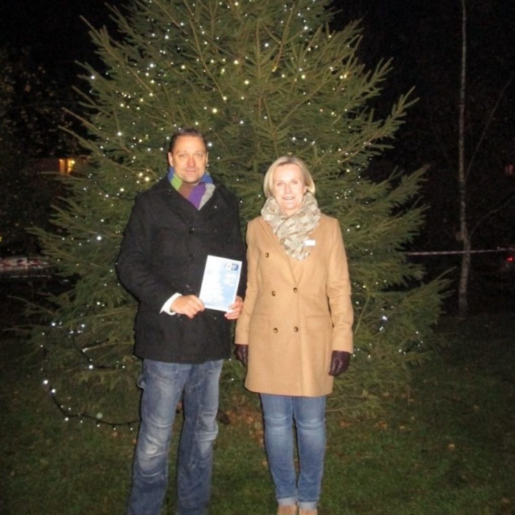 Garden House Hospice Care Hosts Lights Of Life Christmas Service in Garden House Hospice Lights Of Life