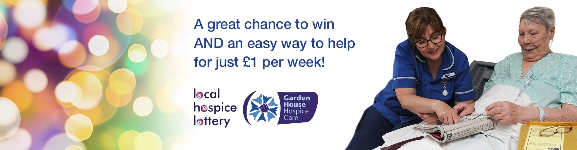Garden House Hospice Care Needs Your Help - Local Hospice Lottery regarding Garden House Hospice Just Giving
