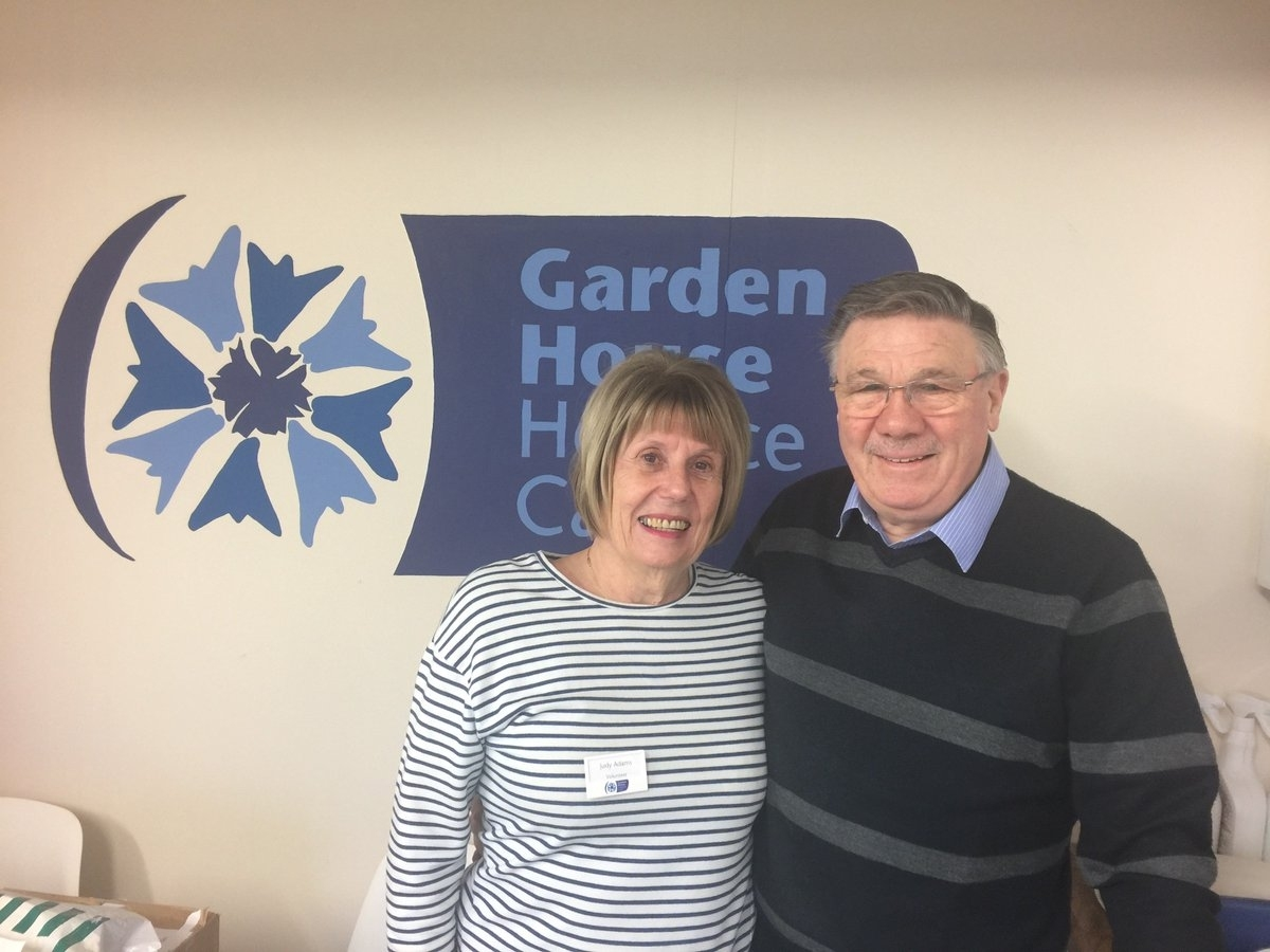"""Garden House Hospice On Twitter: """"thank You To Our Lovely Husband for Garden House Hospice Distribution Centre Letchworth"""