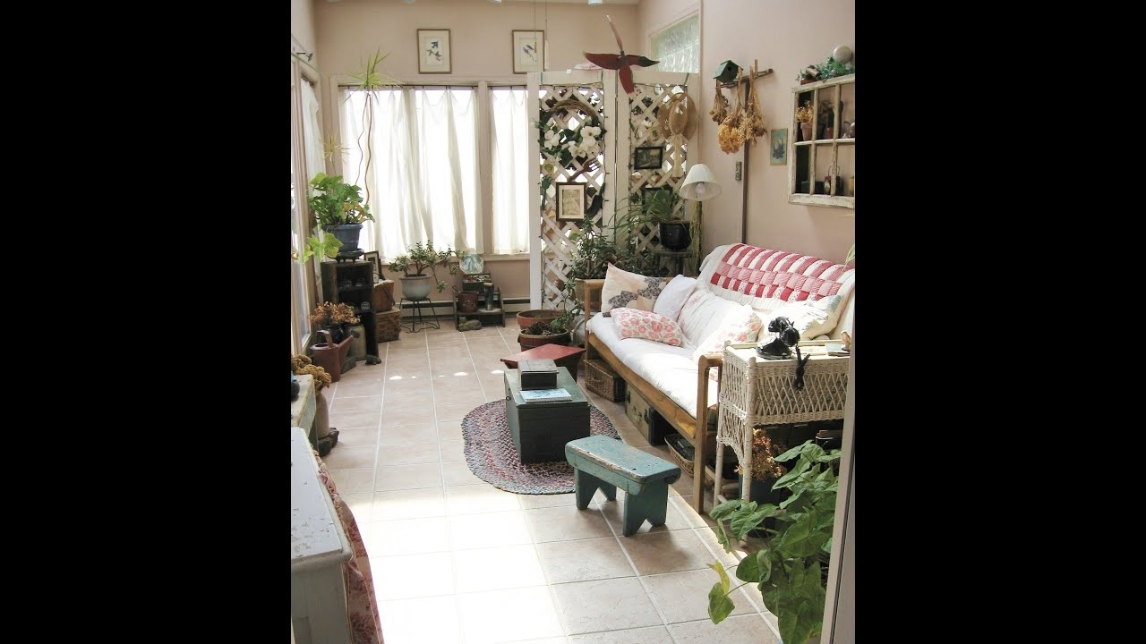 Garden Room Antique Decor Decorating - Youtube with Garden House Antiques And Vintage Home Decor