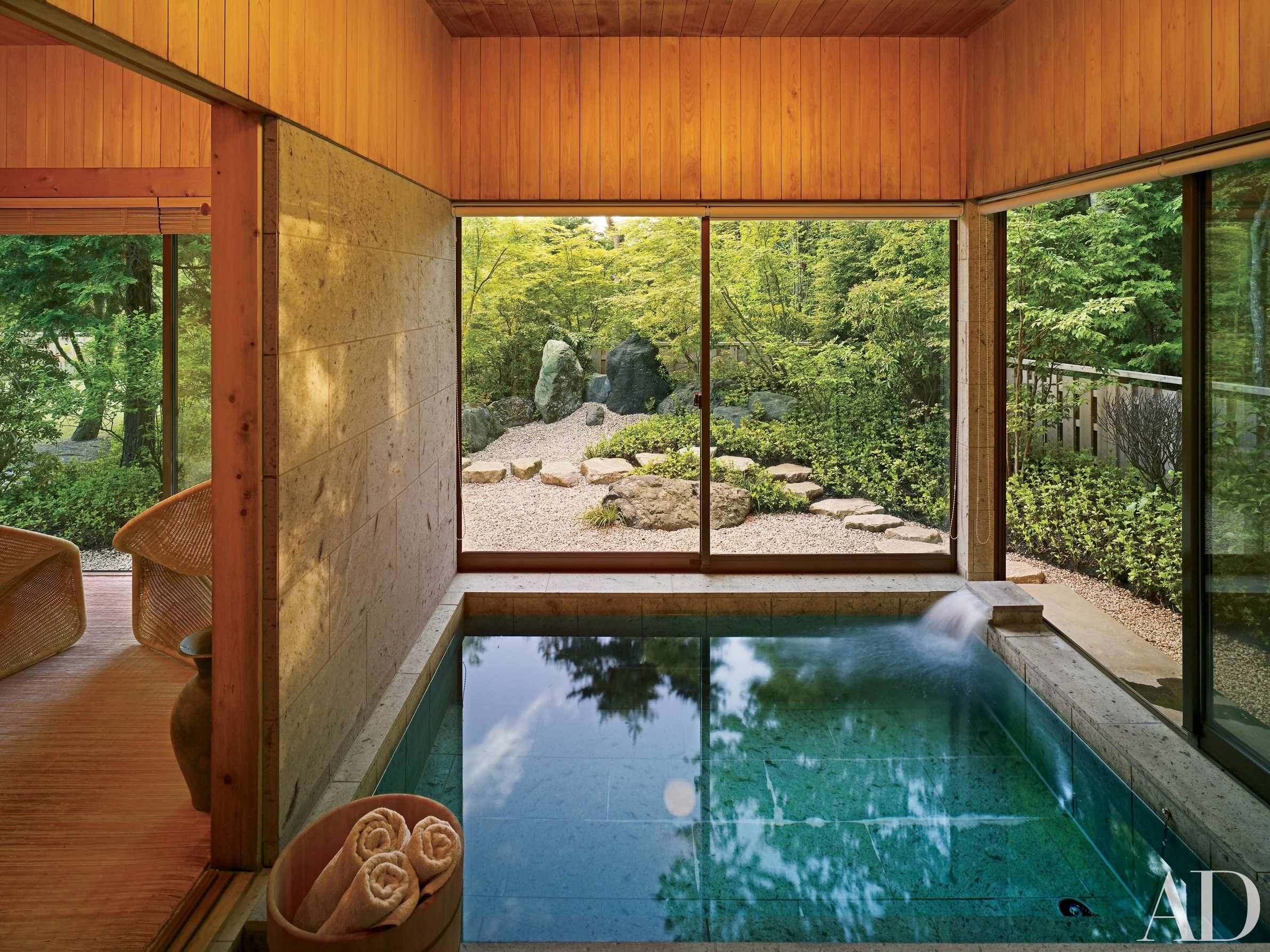 Go Inside These Beautiful Japanese Houses - Architectural Digest intended for Japanese House Design With Garden Room Inside