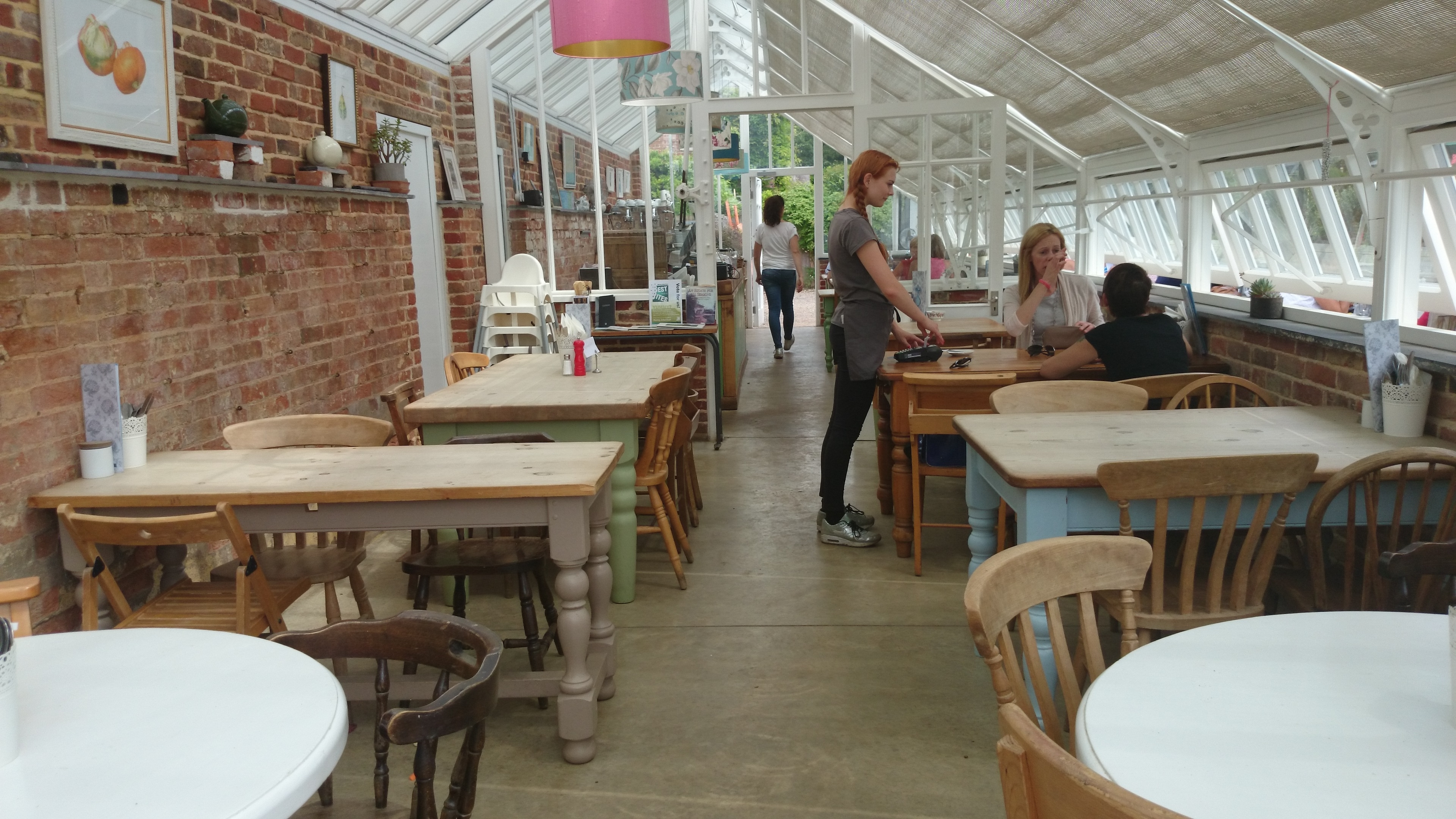 Hothouse Cafe | Ladies Who Lunch In Surrey with Medicine Garden Hot House Cafe