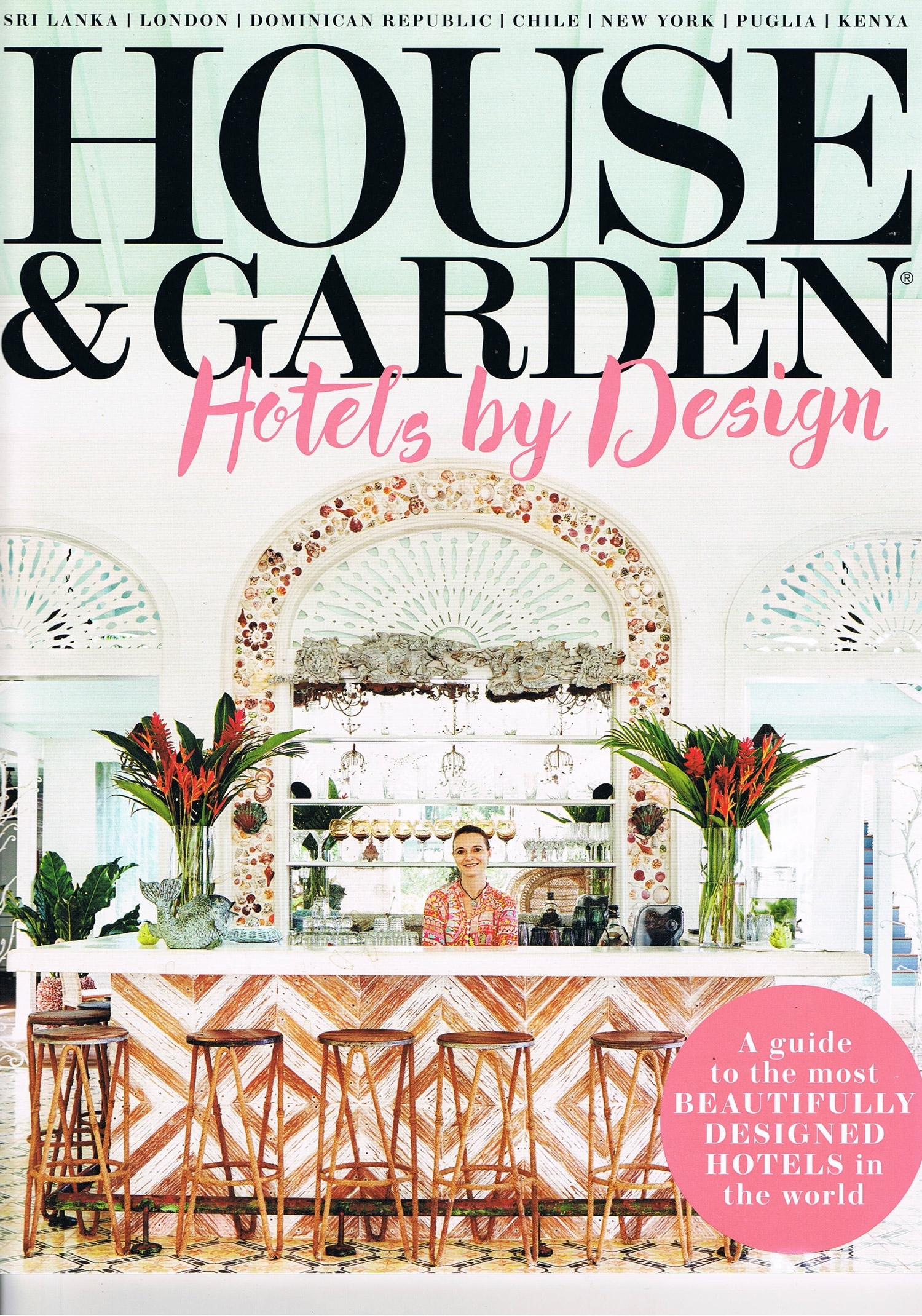 House & Garden Hotels By Design – May 2016 - Rupert Bevan for House And Garden Hotels By Design