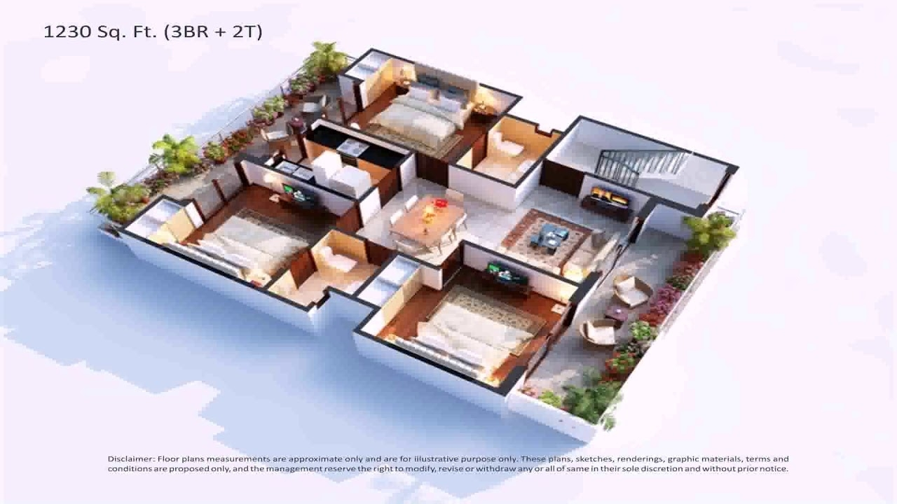 House Plans With Central Garden - Youtube inside House Design With Central Garden