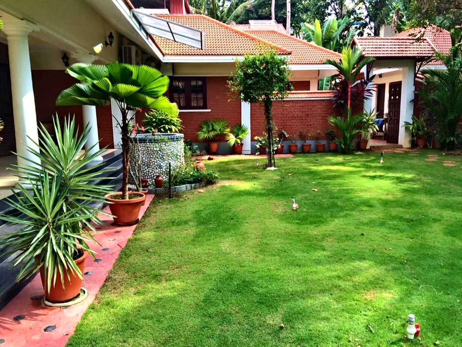 Kerala Style Landscape Design Photos Home And Floor Planning | Home within House Garden Design In Kerala