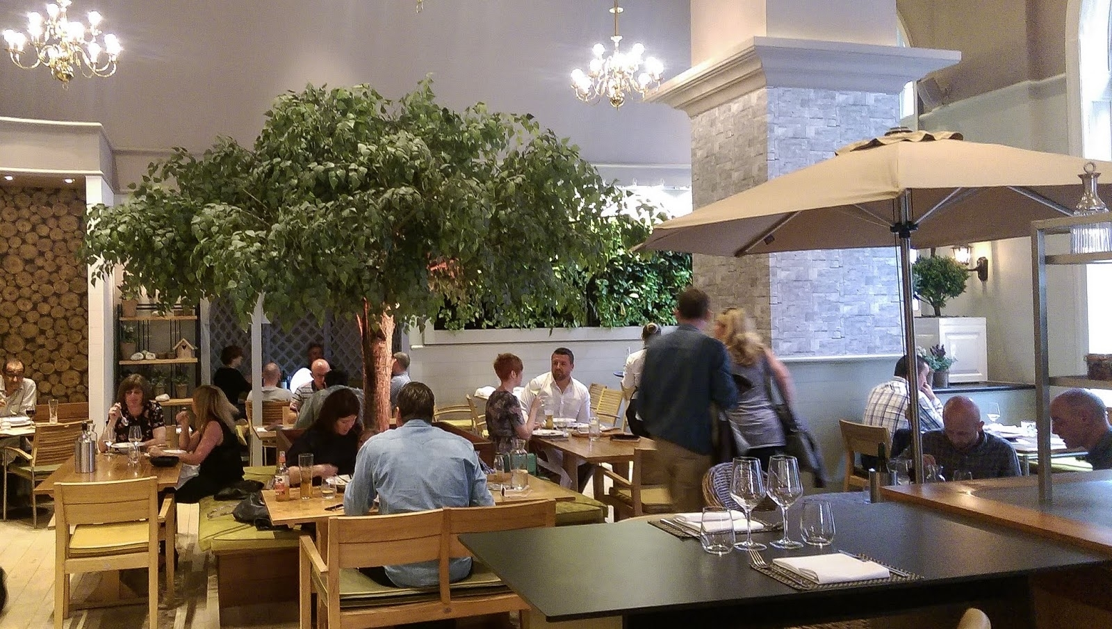 Patchy Growth: Restaurant Review: Mr Cooper's House And Gardens in Mr Cooper's House And Garden Restaurant The Midland