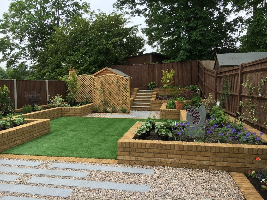 Raised Beds In A New Build Garden | Berrie Garden Design with regard to Garden Design New Build House