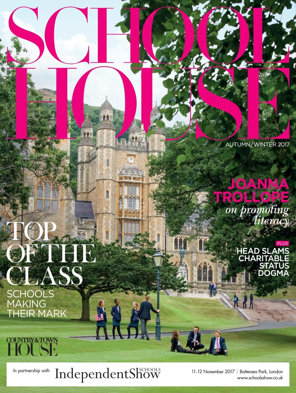 School House - Autumn/winter 2017 By Country & Town House Magazine within Christian Warland Garden House School