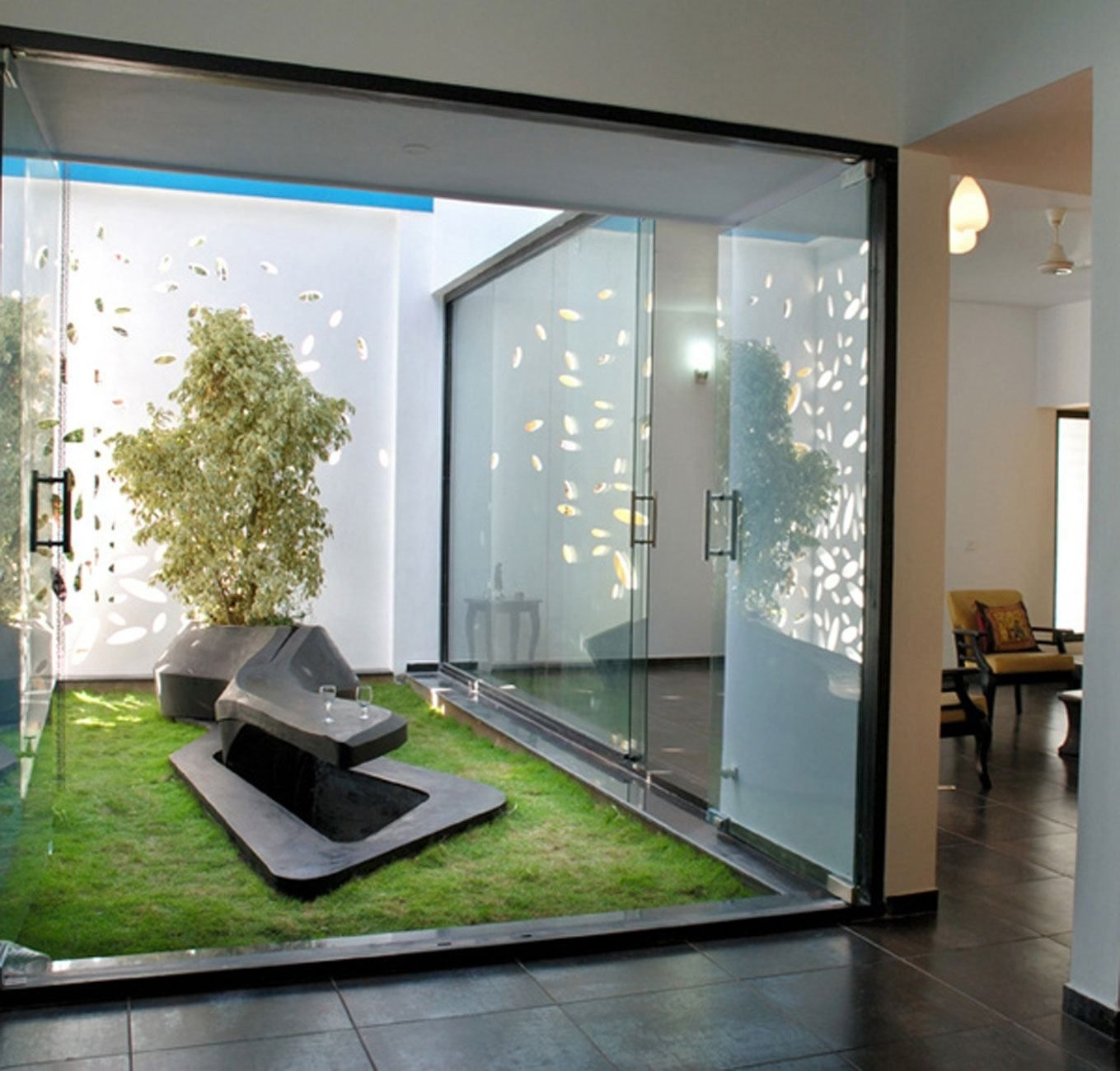 Small And Doable, And I'd Already Been Thinking Of Glass Walls with House And Garden Interior Design