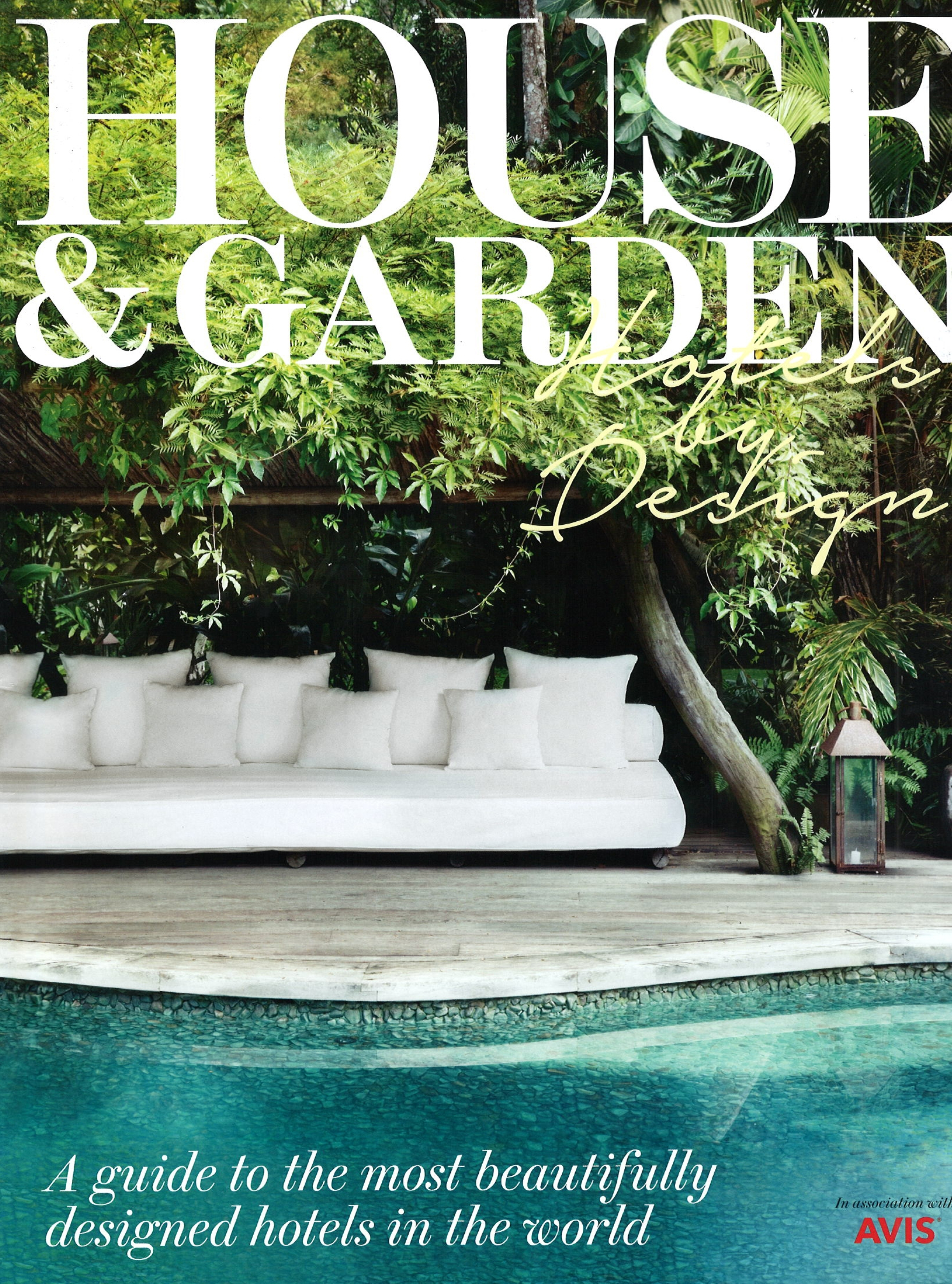 Tara Bernerd & Partners   Press within House And Garden Hotels By Design