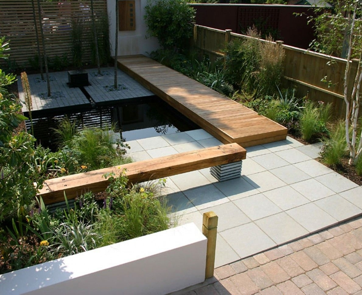 The Brief Was To Design A Relatively Low Budget Garden For A Typical throughout Garden Design New Build House