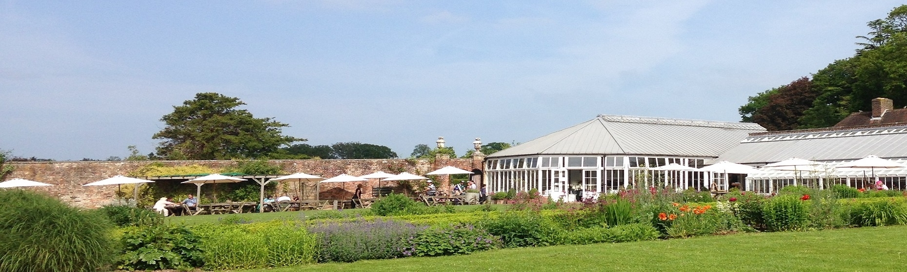 The Pavilion Tearooms Serve Breakfast, Lunch And Afternoon Tea Using inside Stansted House Garden Centre Cafe