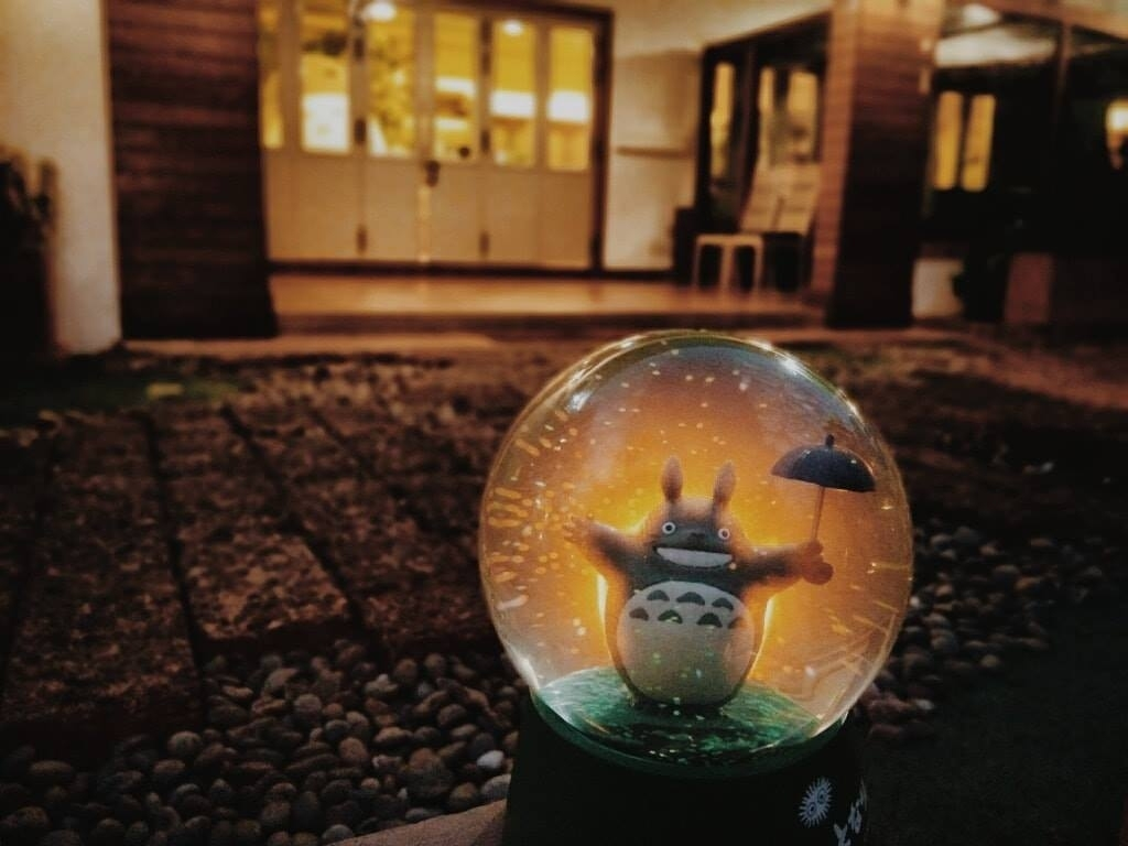 This First Official Totoro Restaurant Has Opened In Bangkok in May'S Garden House Restaurant In Bangkok