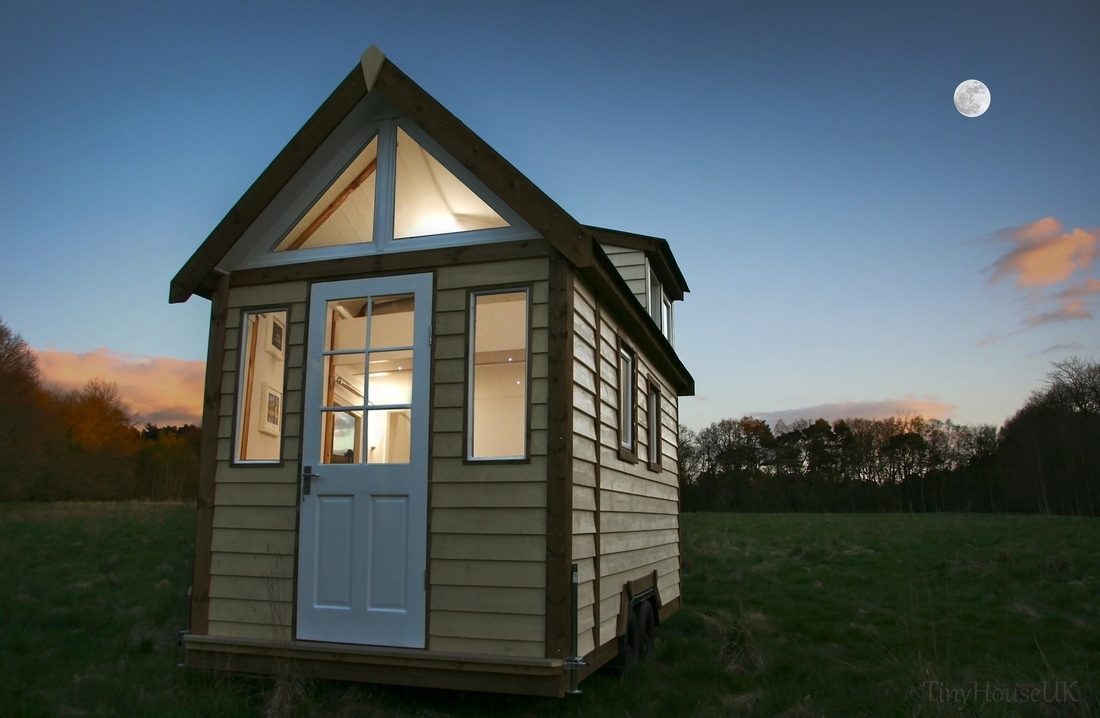 """Tiny House Uk - """"tiny House"""" Cabins, Off Grid Micro Homes, Built In in Garden House To Live In"""