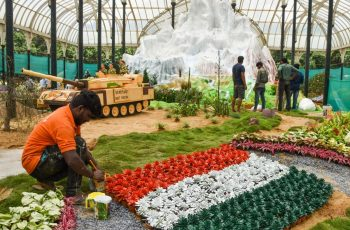 208Th I-Day Flower Show Dedicated To Armed Forces | Deccan Herald regarding Garden Gate Flowers Madras Oregon
