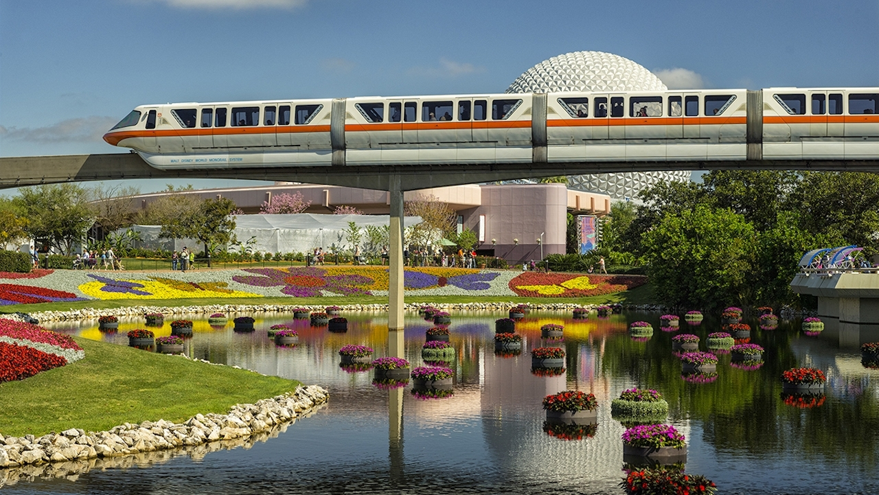 90 Days Of Spring Beauty Will Bloom At The 25Th Epcot International within Flower And Garden Festival California