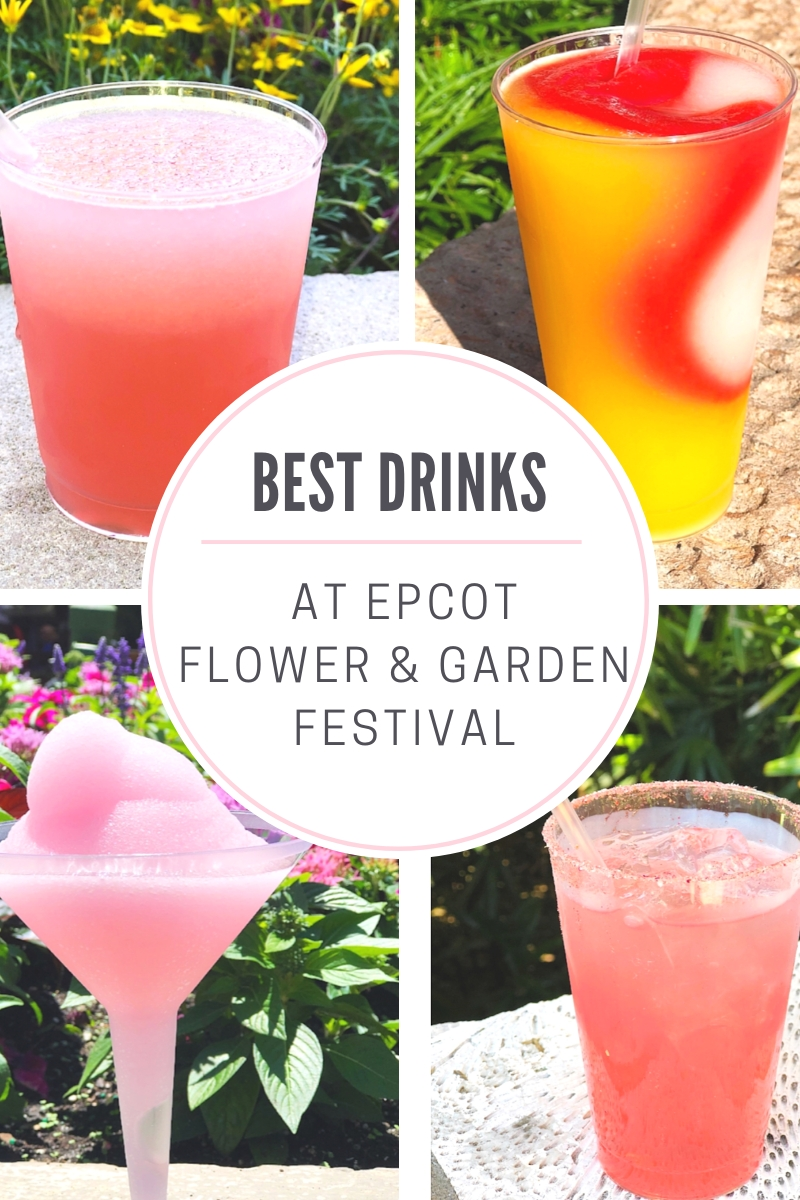 Check Out The Best Drinks To Try At Epcot Flower And Garden Festival intended for Flower And Garden Festival Drinks