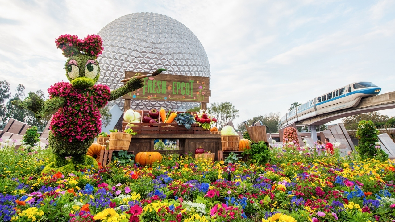 Epcot International Flower & Garden Festival Topiary Photos From with regard to Epcot Flower And Garden Festival Blog