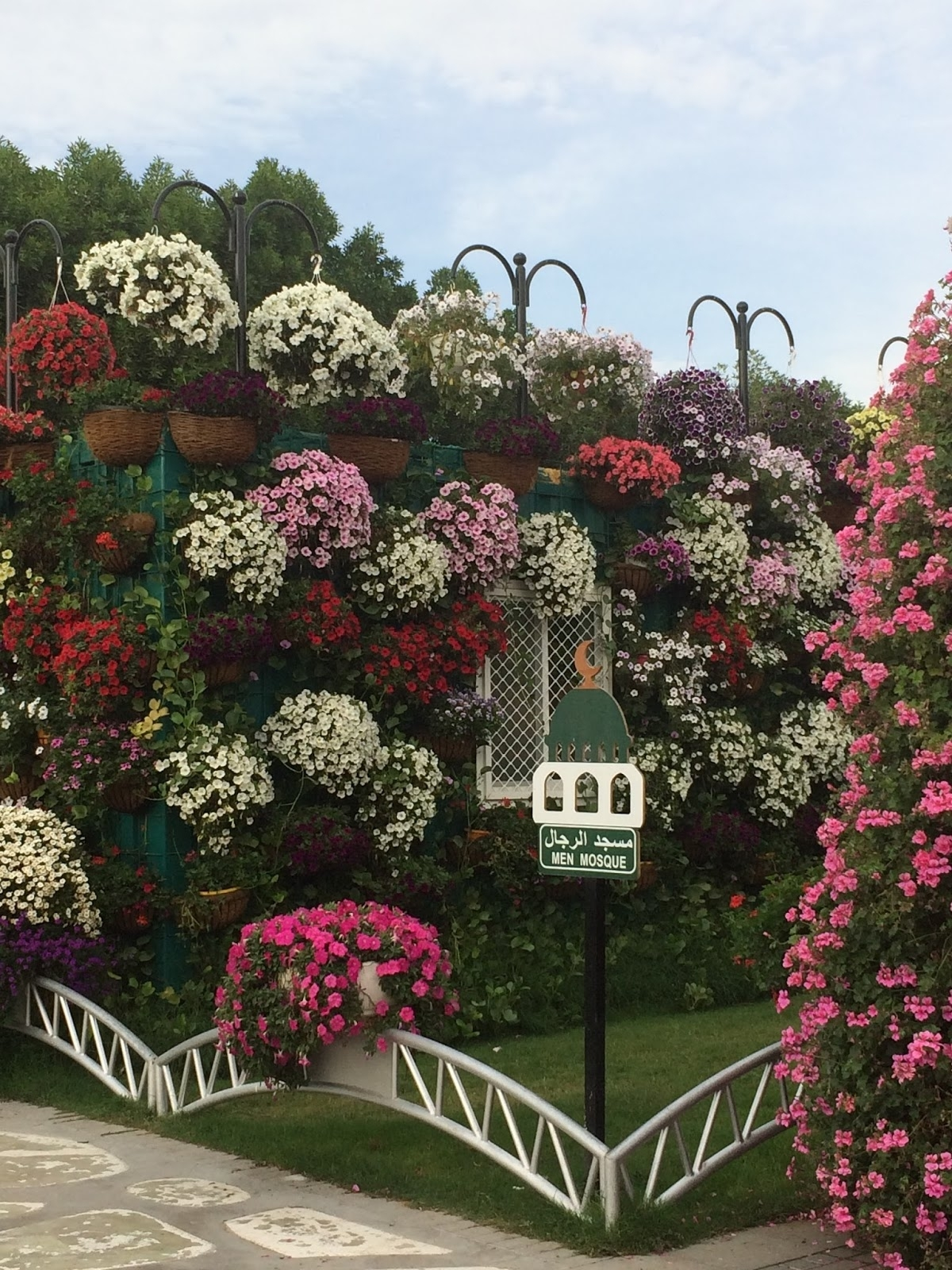 Expat Life With Chickenruby: Dubai Miracle Garden With #hdygg with Hanging Flower Garden In Dubai