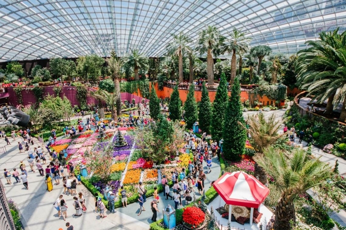 Gardens By The Bay | Attractions In Singapore | Park Hotel Group within Garden By The Bay Singapore Flower Dome