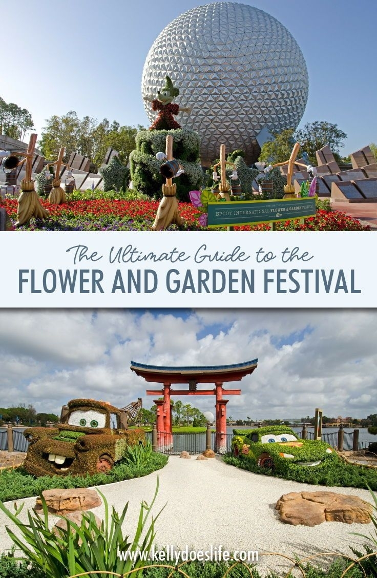 Guide To Epcot's International Flower And Garden Festival 2019 regarding Flower And Garden Festival Guide