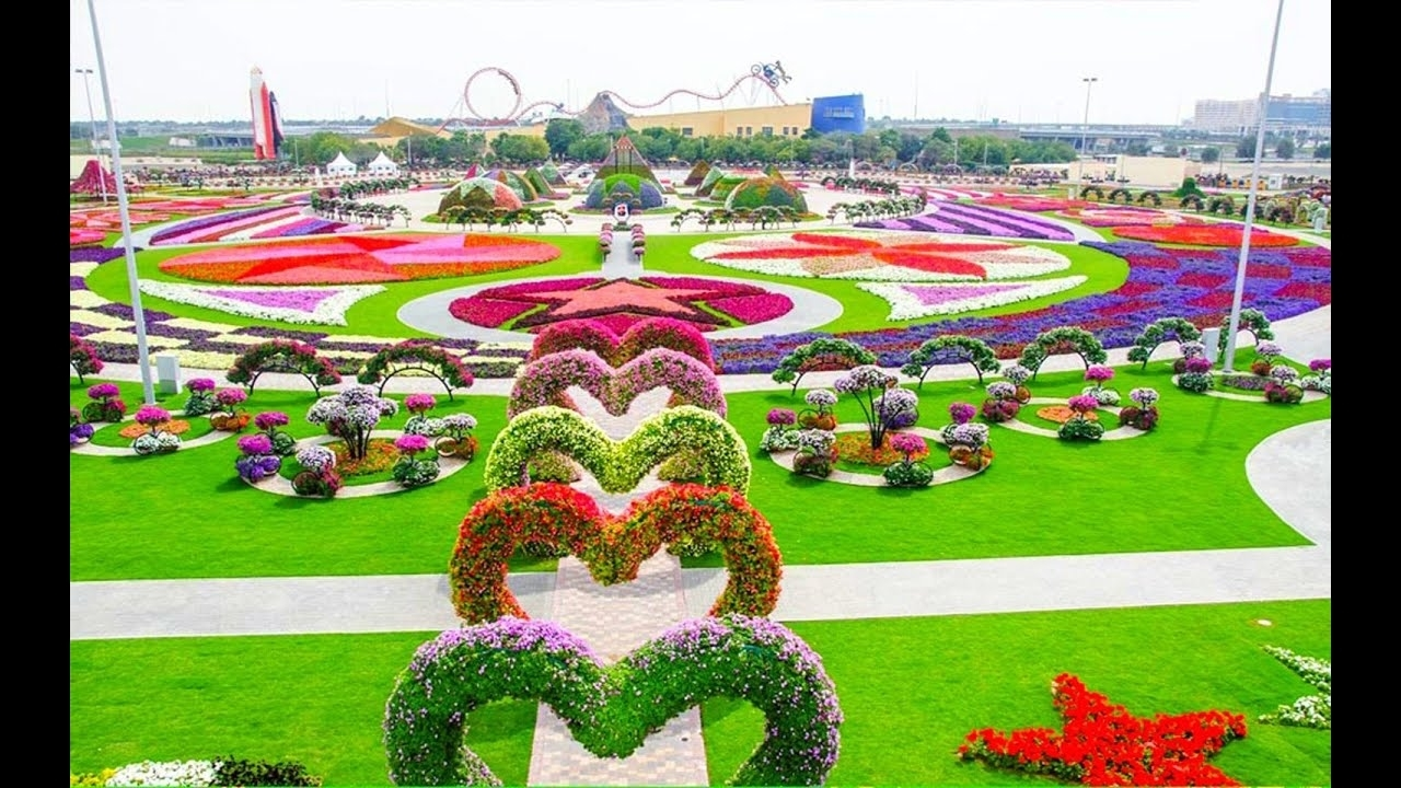 Most Beautiful And Biggest Natural Flower Garden In The World   Dubai  Miracle Gardens intended for Beautiful Flower Garden In Dubai