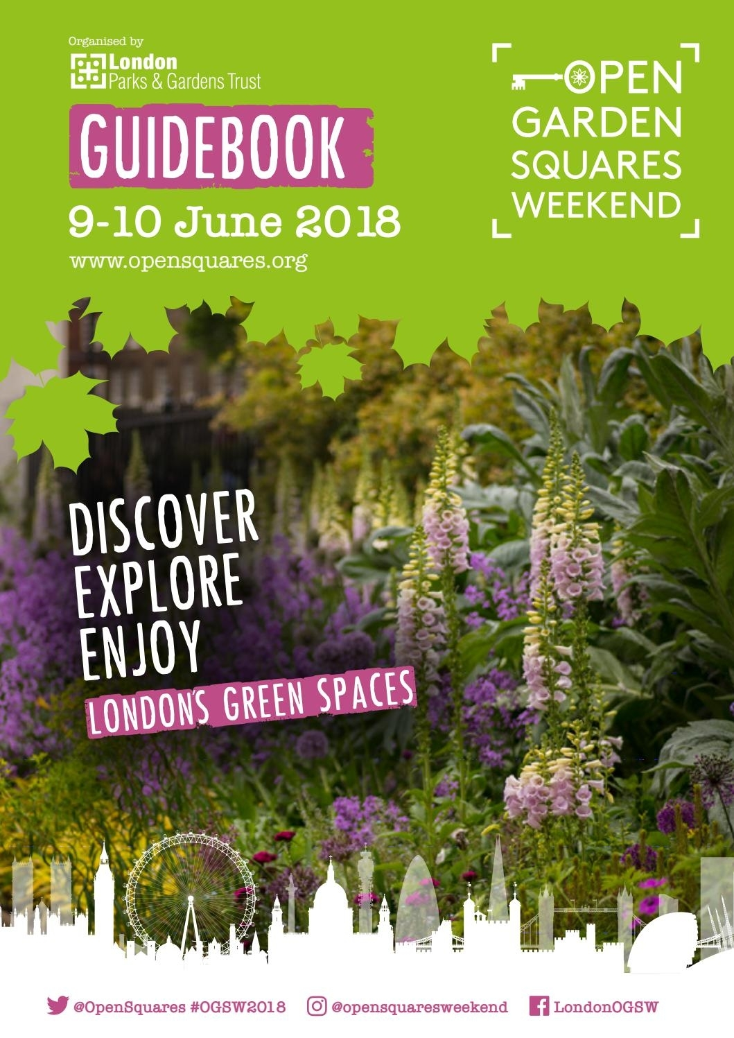 Open Garden Squares Weekend Guidebook 2018 By London Parks And for How To Play Garden Flower Bloom Level 267