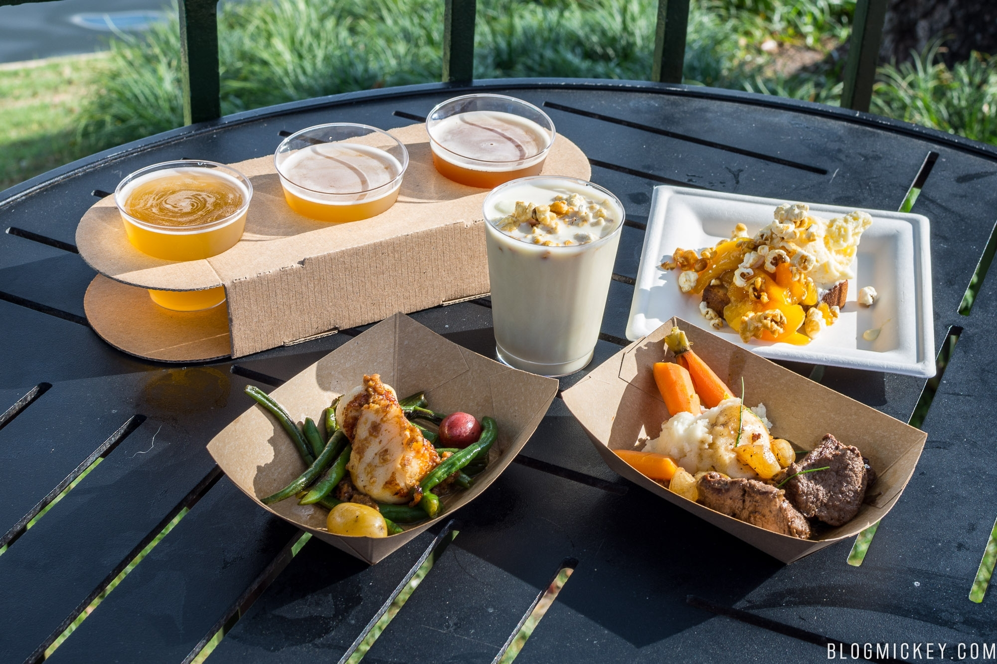 Review: Northern Bloom - 2018 Epcot Flower And Garden Festival intended for Flower And Garden Festival Food Reviews