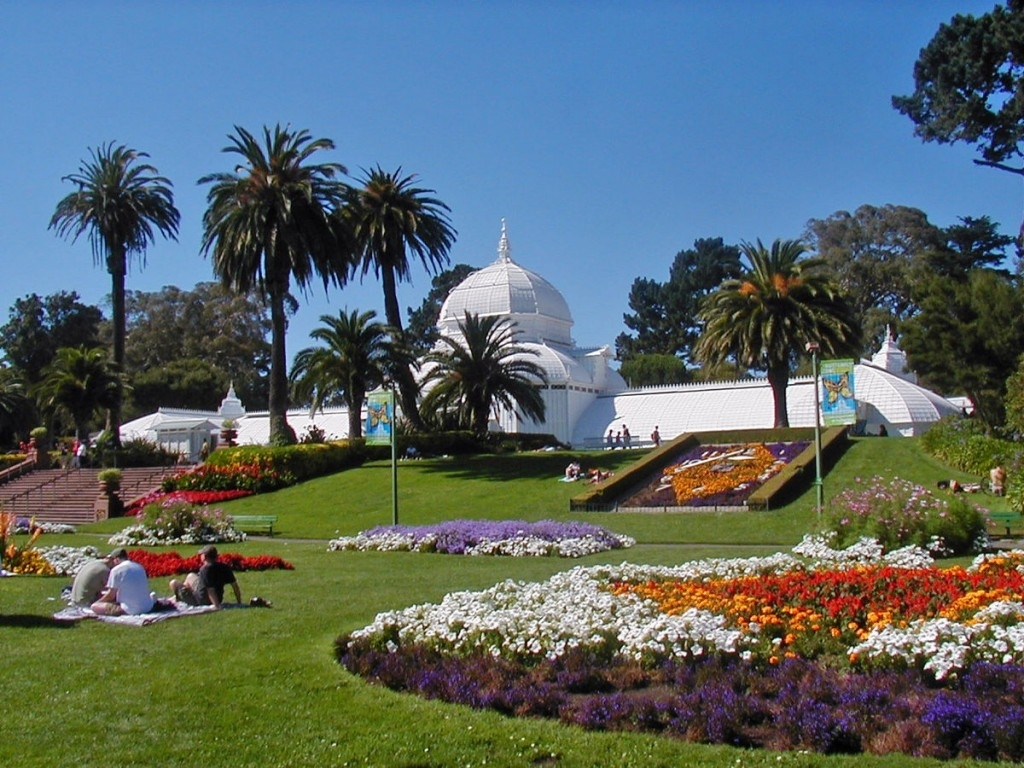The Most Beautiful Flower Gardens In San Francisco in Flower Garden Golden Gate Park