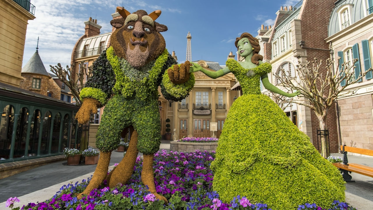 This Week In Disney Parks Photos: Epcot International Flower pertaining to Flower And Garden Festival In Epcot