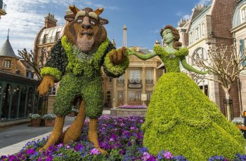 This Week In Disney Parks Photos: Epcot International Flower with Epcot Flower Garden Festival Concerts