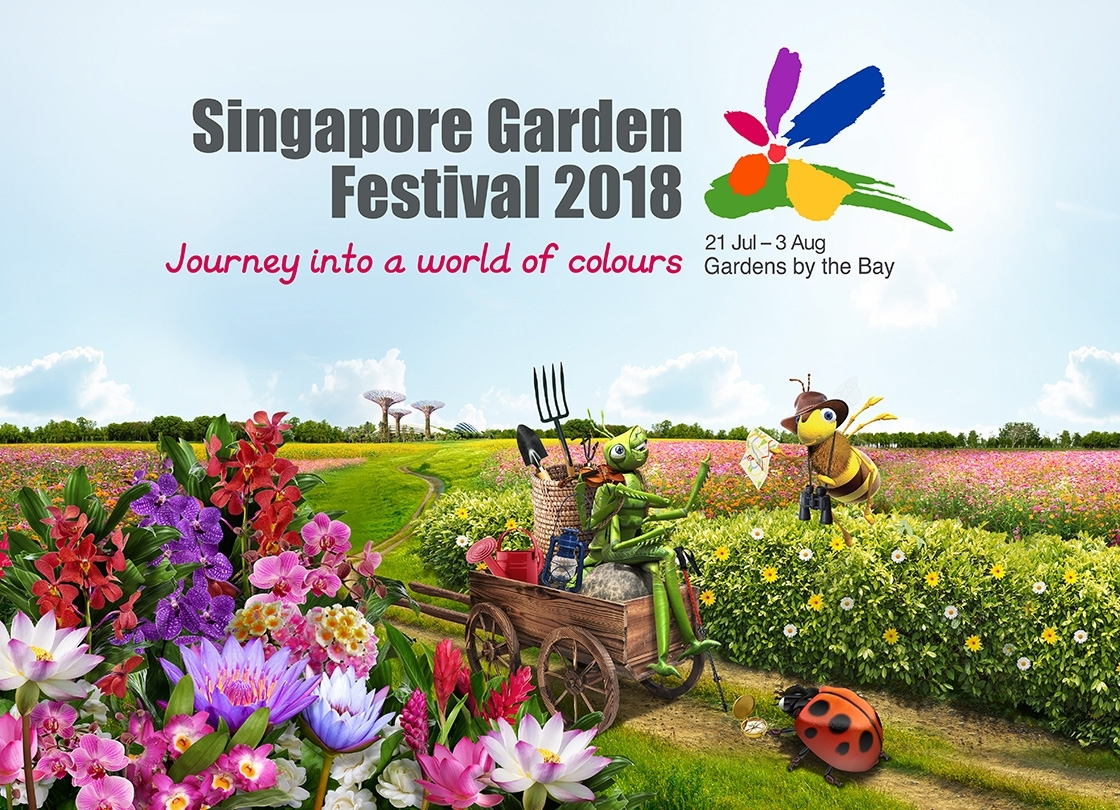 Upcoming Events - Gardens By The Bay within Garden By The Bay Flower Festival 2018