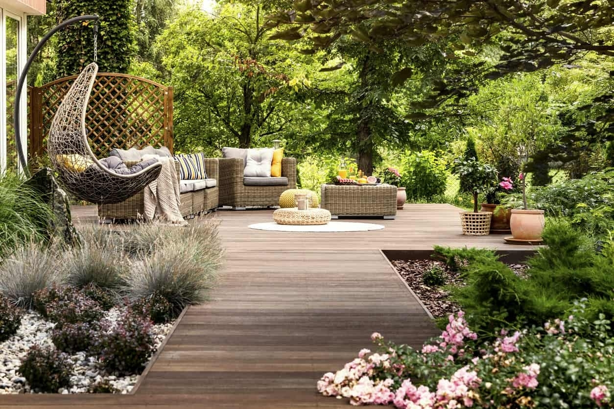 101 Backyard Landscaping Ideas For Your Home (Photos) within Zen Garden Design Balls