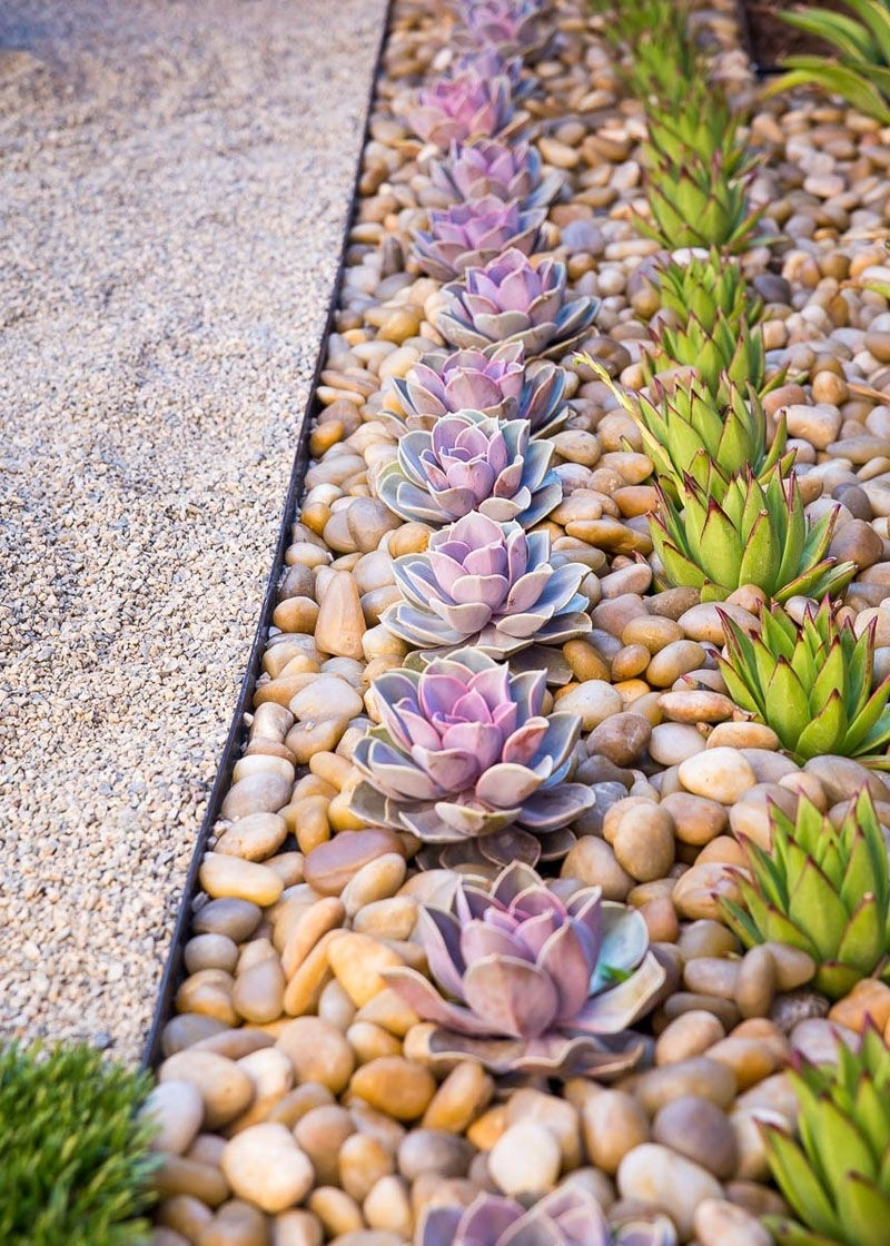 8 Elements To Include When Designing Your Zen Garden // Succulents throughout Zen Garden Design Elements