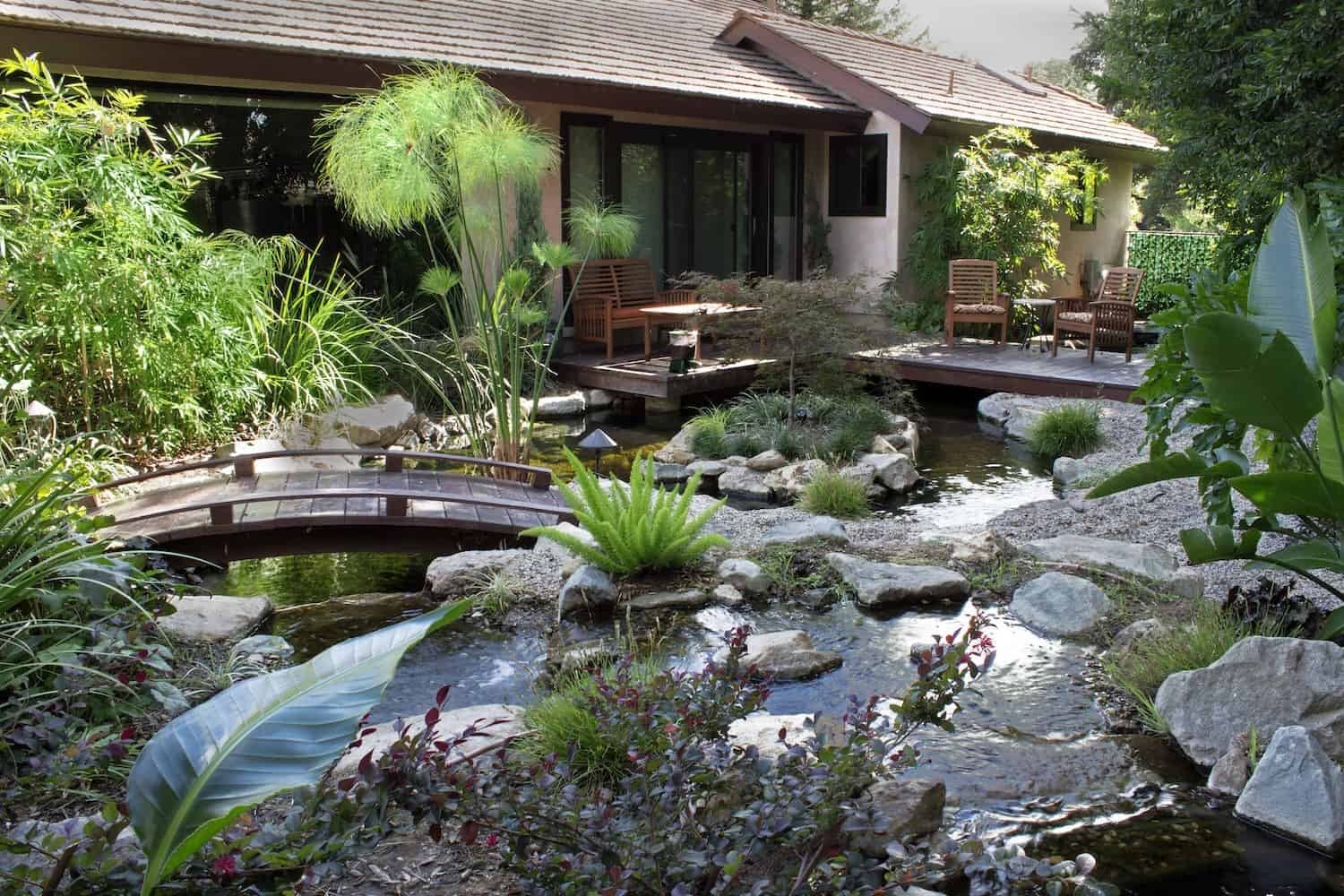 Decorating With An Asian Landscape Design - Pacific Outdoor Living with Zen Garden Landscape Design
