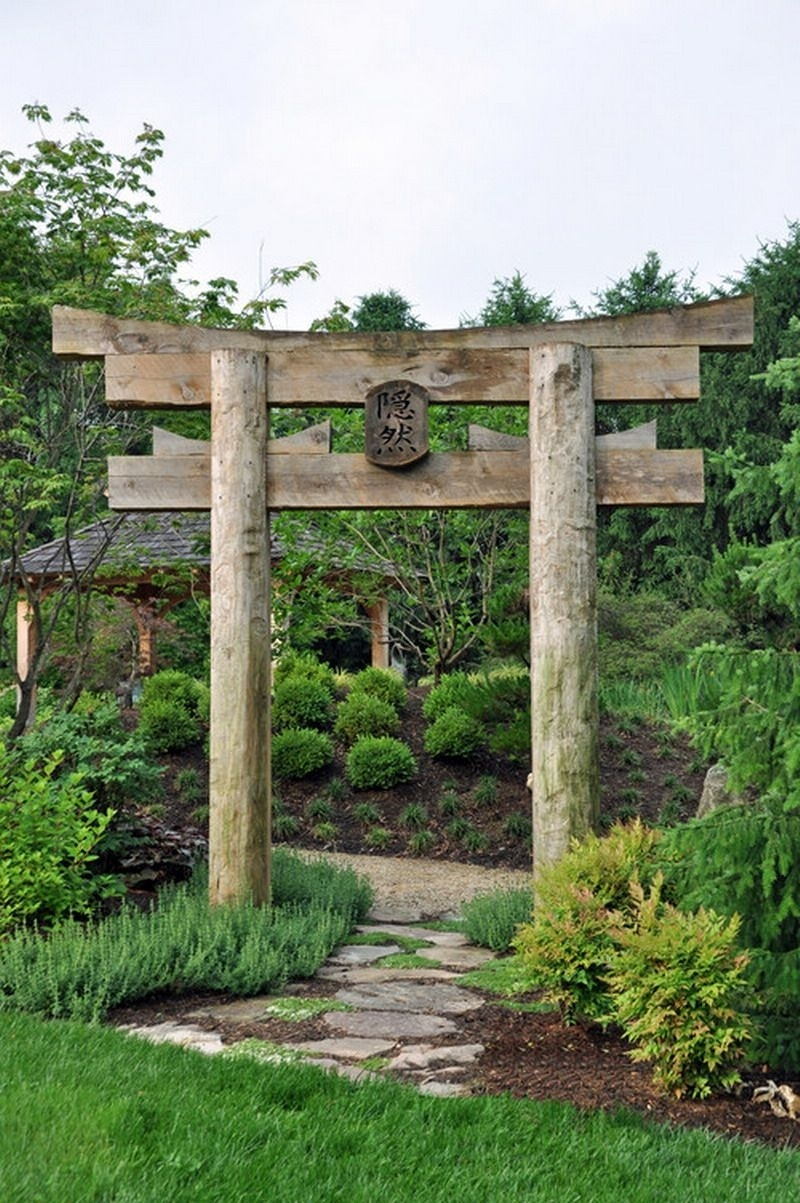 Decorative Japanese Garden Gate Ideas - Best Patio Design Ideas within Zen Garden Design With Shinto Gate