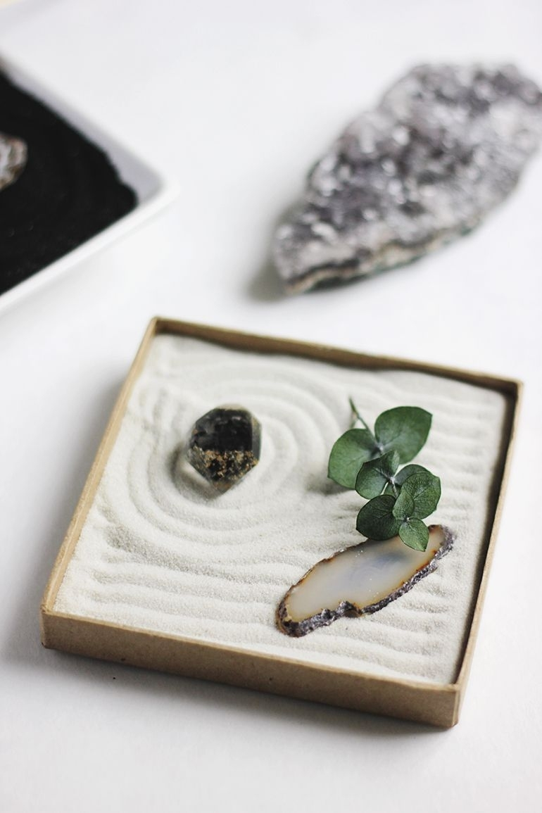 Diy Mini Zen Garden | Diy Crafts | Mini Zen Garden, Miniature Zen in Diy Mini Zen Garden Ideas