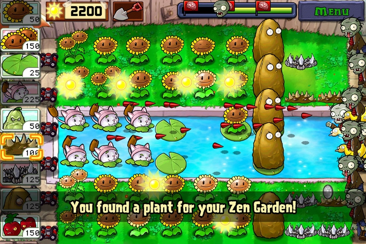 Guide Plants Vs Zombies pertaining to Zen Garden Plants Vs Zombies Ds