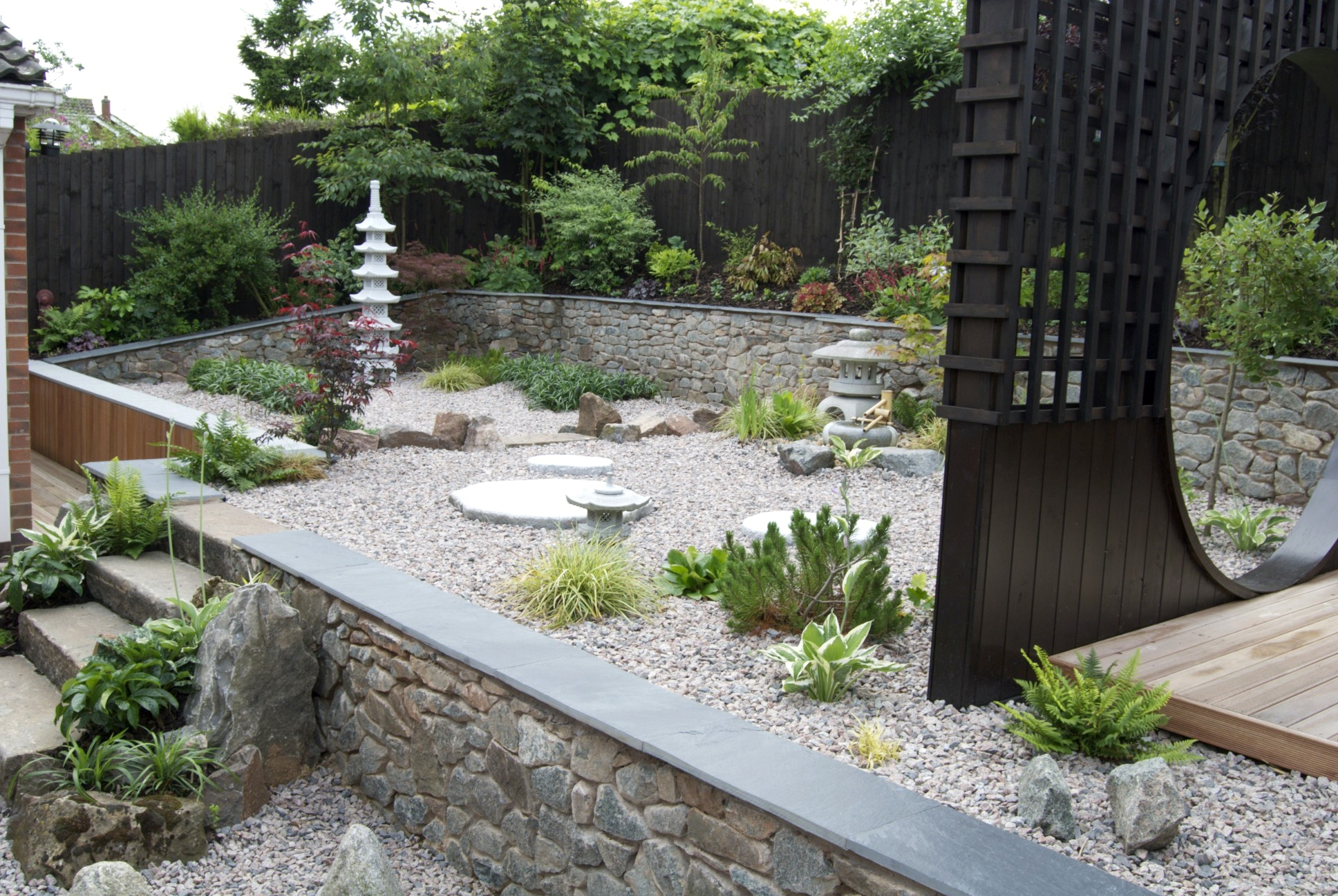 How To Build A Japanese Garden In A Small Space « Japanese Gardens regarding Zen Gardens For Small Spaces