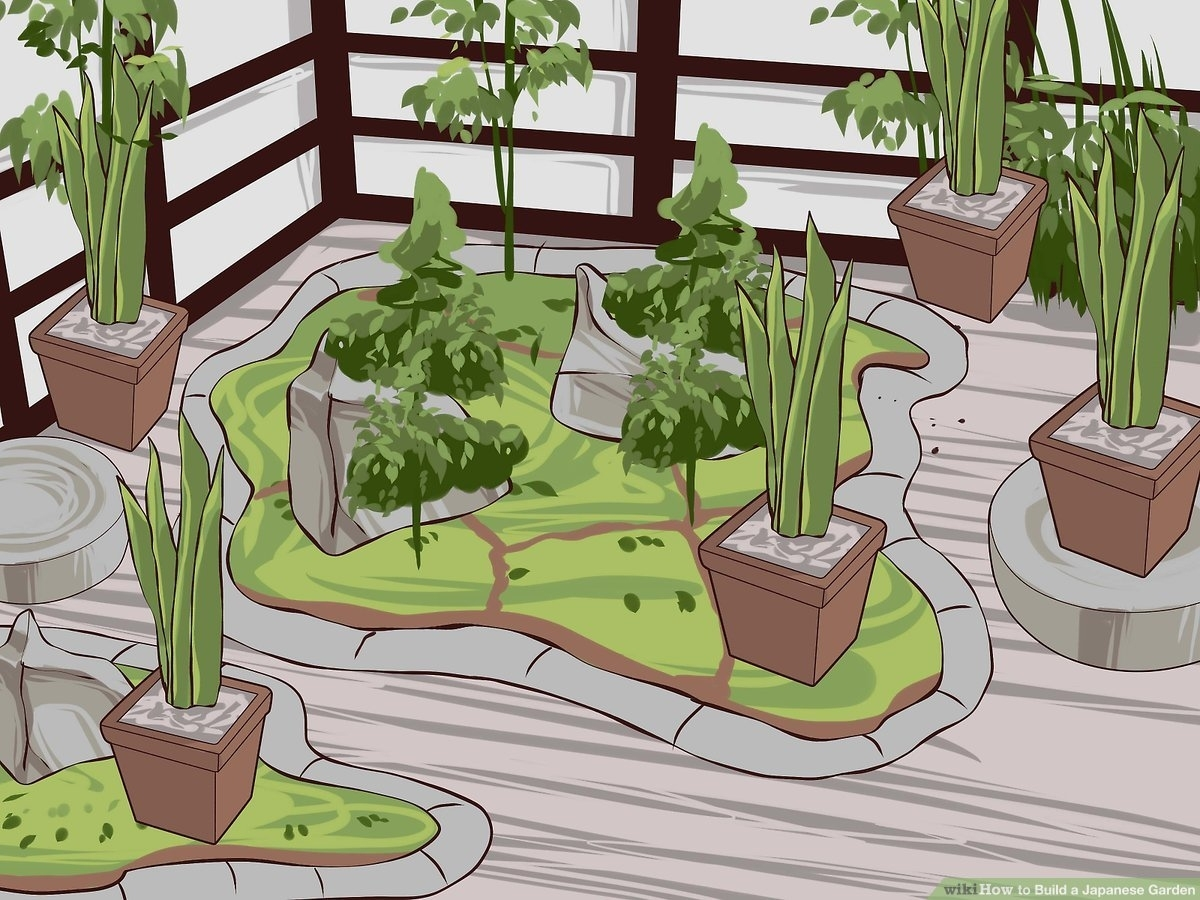 How To Build A Japanese Garden (With Pictures) - Wikihow within Zen Garden Ideas For Home