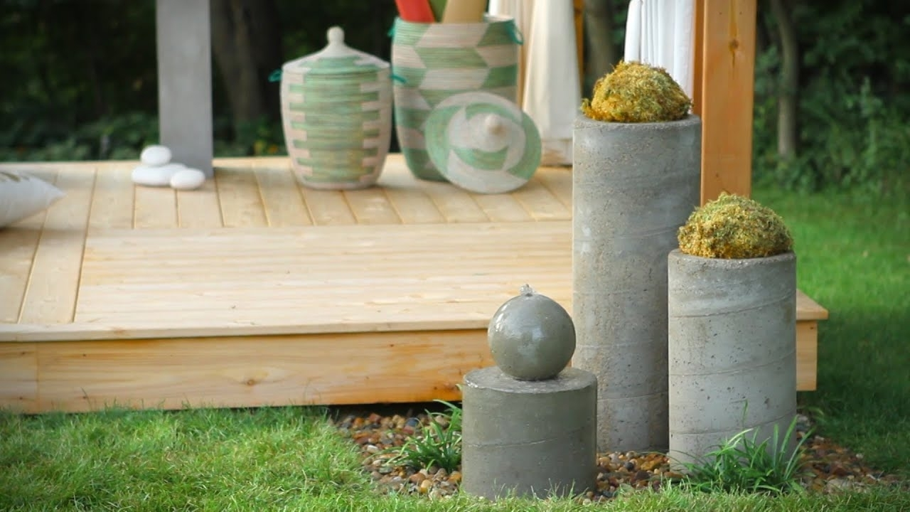 How To Build An Outdoor Zen Garden Water Fountain - Youtube with regard to Zen Garden Design Balls