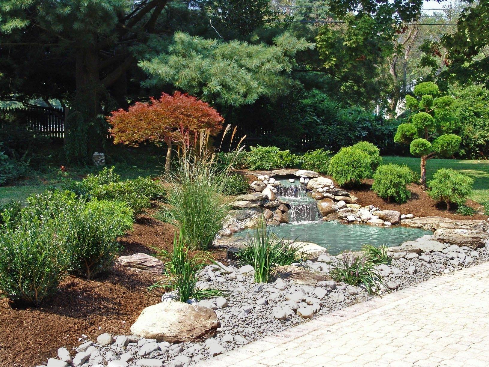 Japanese Garden. Landscape Design With Waterfall And Pond By Lee's inside Zen Garden Design Sydney