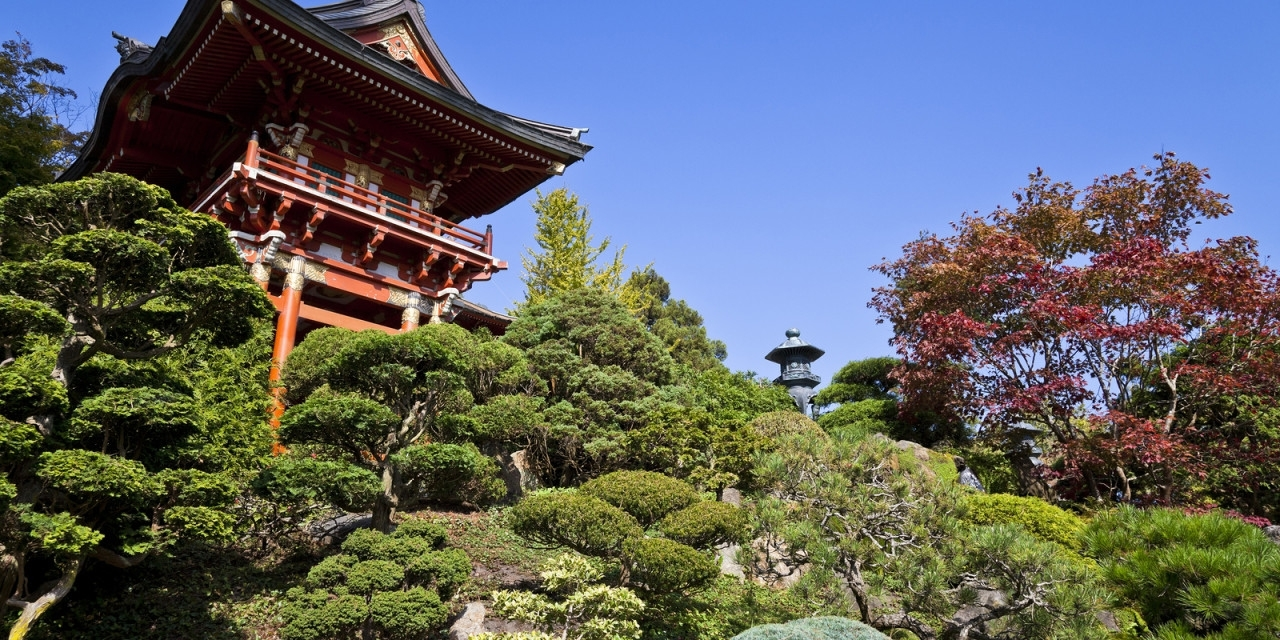 Japanese Tea Garden In Golden Gate Park with Zen Garden Design With Shinto Gate