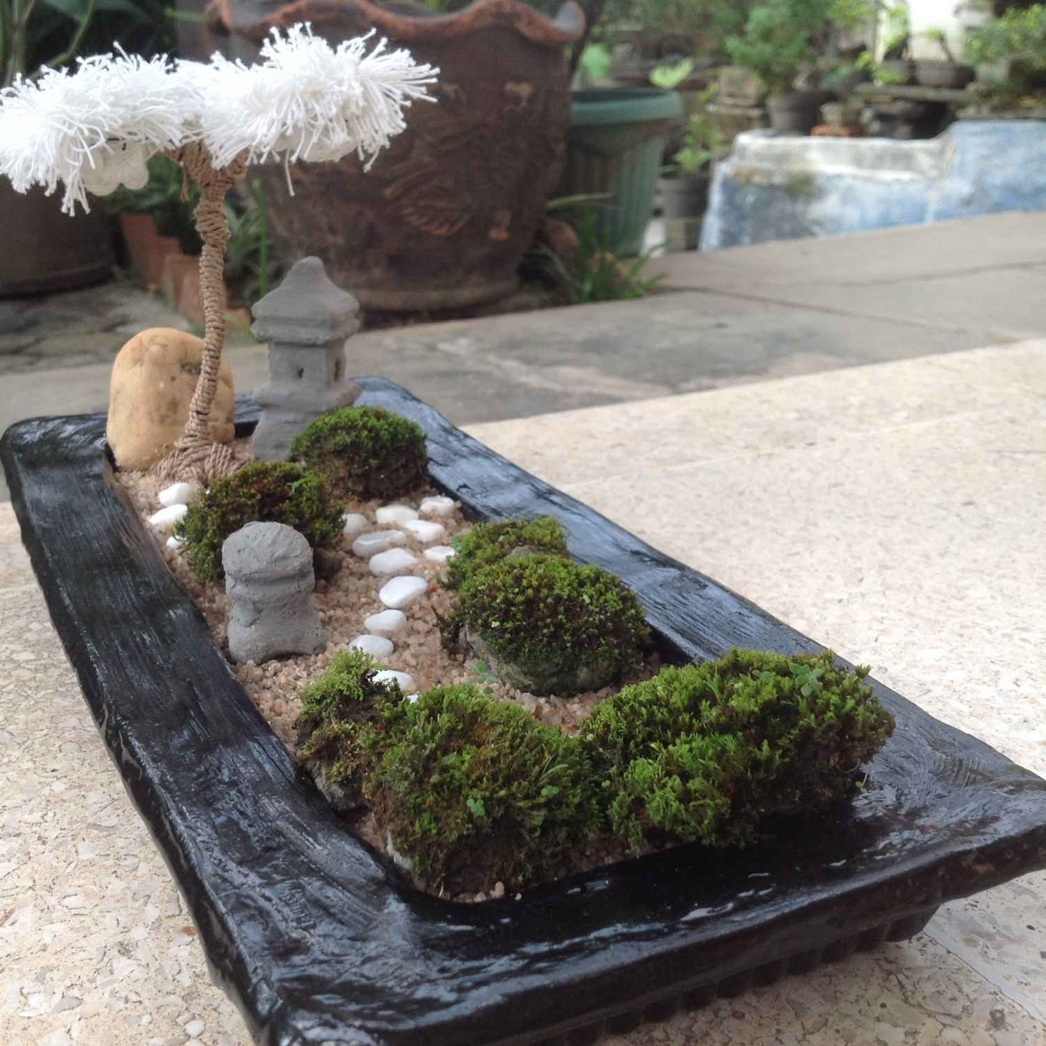 Mini Zen Garden Ideas To Bring Tranquility In Your Home throughout Diy Mini Zen Garden Ideas