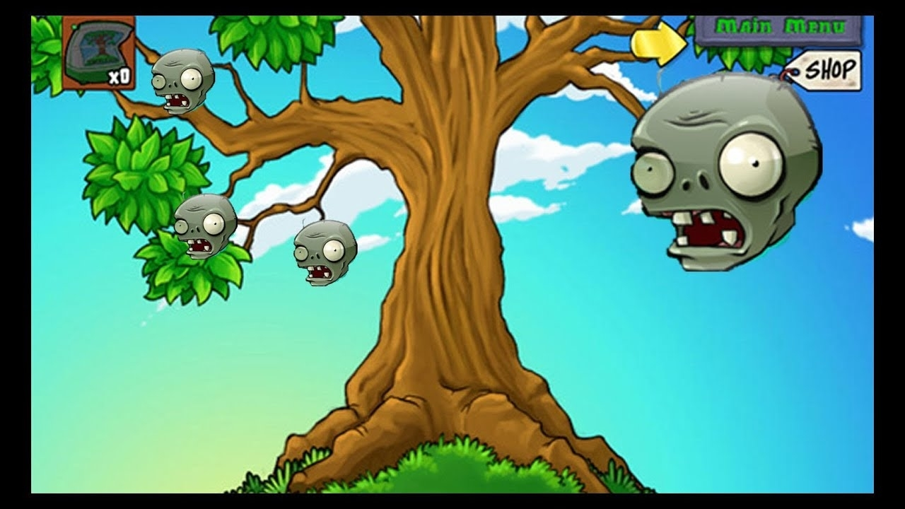 Plants Vs Zombies - 1000Ft Tall Tree Of Wisdom - Youtube with Zen Garden Trong Plant Vs Zombie