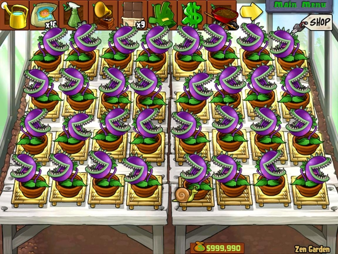 Plants Vs Zombies - Full Chomper Zen Garden - Now I Have My Life inside Zen Garden Plants Vs Zombies Music